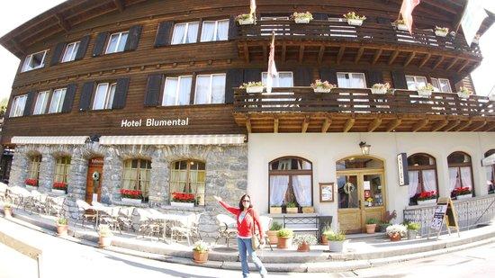 Hotel Blumental Mürren: Street view