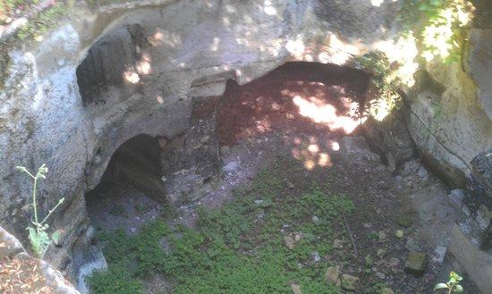 Manoir de Boisairault : the caves