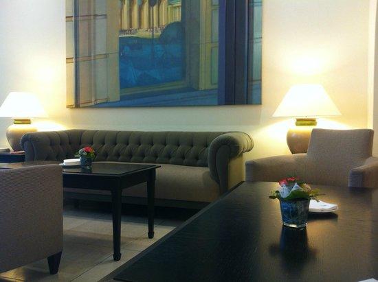 Sheraton Carlton Hotel Nürnberg: gezellige lobby