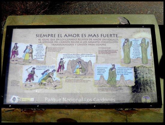 Parque Nacional Los Cardones: Como toda leyenda...