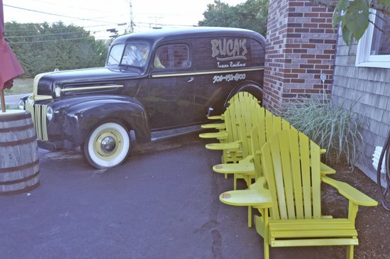 Buca's Tuscan Roadhouse: EXTERIOR with WOODIE