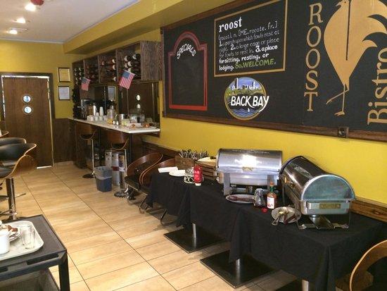 Newbury Guest House: Breakfast buffet