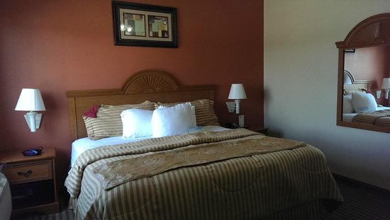 Days Inn & Suites Houston Hobby Airport : Chambre de la suite