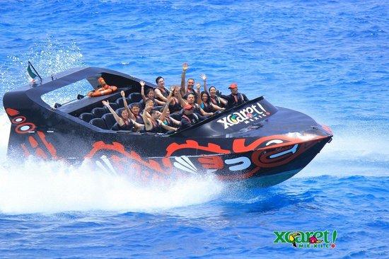 Entertainment Plus: Adrenalina in xcaret