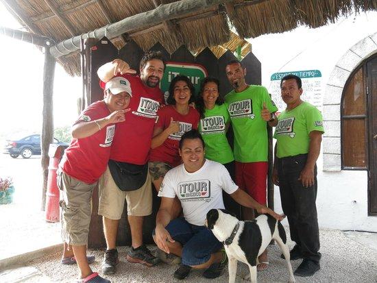 Itour Mexico: Lo staff quasi al completo