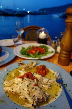 Ristorante Ruccio: Sea bass - delicious!