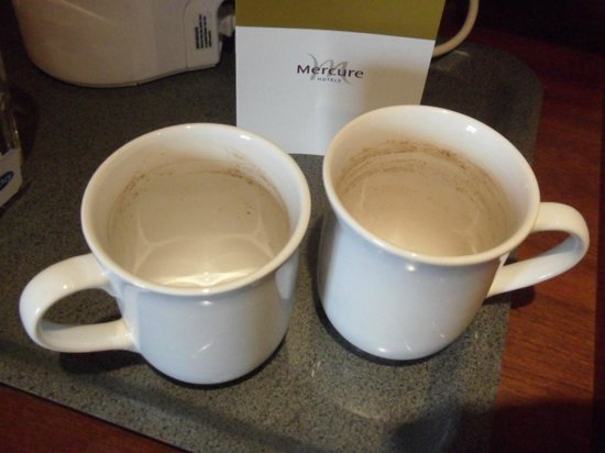 Mercure Brighton Seafront Hotel: What was in the tea?