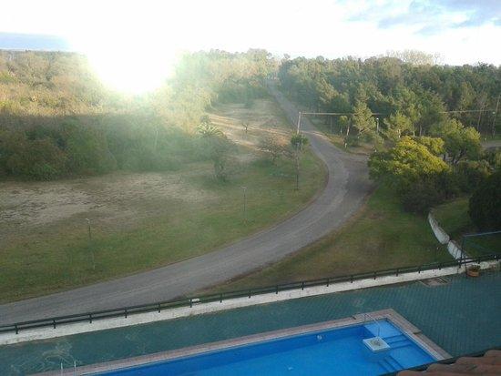 Hotel Casino Carmelo : una vista desde la ventana de la habitacion