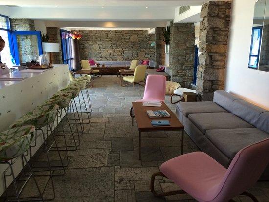 Mykonos Theoxenia : June 2014 Bar area
