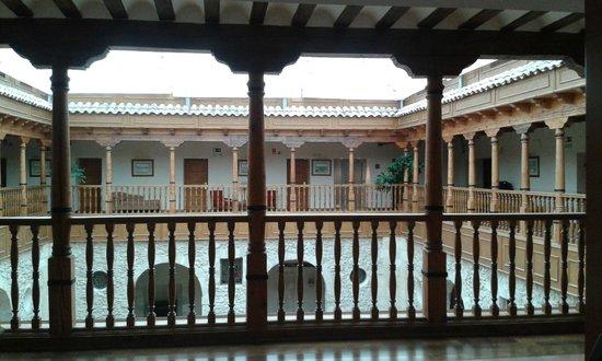 Hotel Convento Las Claras: Al salir de la habitación