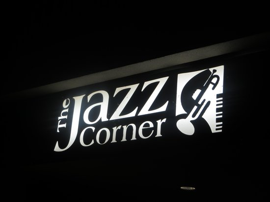 The Jazz Corner: It really is in a corner of the shopping center so be careful you don't miss it.