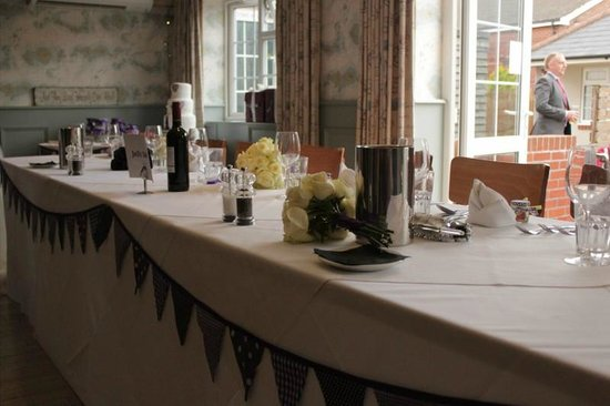 The Navigator: View of the top table