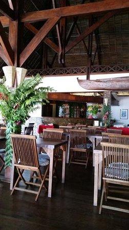 Corail Noir : il ristorante