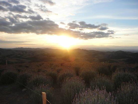 Cunha, SP: Por do sol