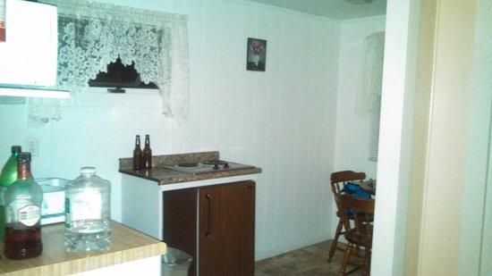 Sunnyside Motel & Cottages: kitchen area