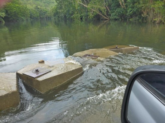 Bloomfield River crossing