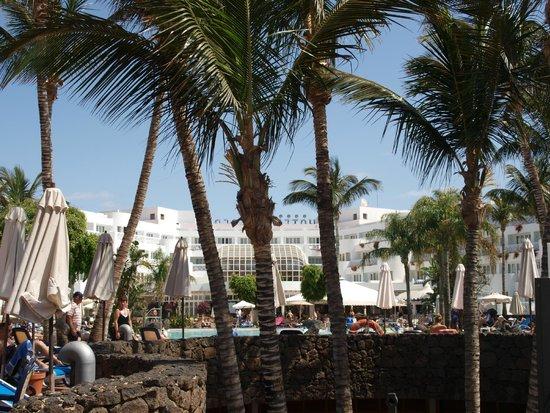 Hipotels La Geria: vue depuis la plage