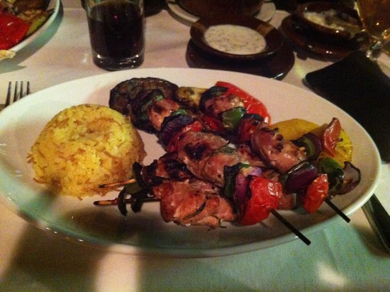 The Grill : Chicken Shish