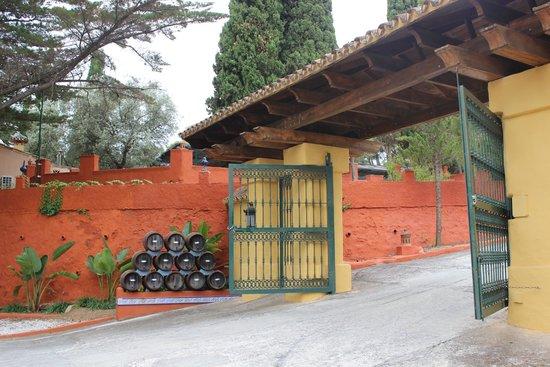 Hotel Cortijo la Reina : Entrée