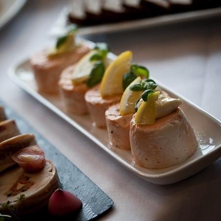 Food by Breda Murphy: ballontine of Scottish Salmon with lemon mayonnaise