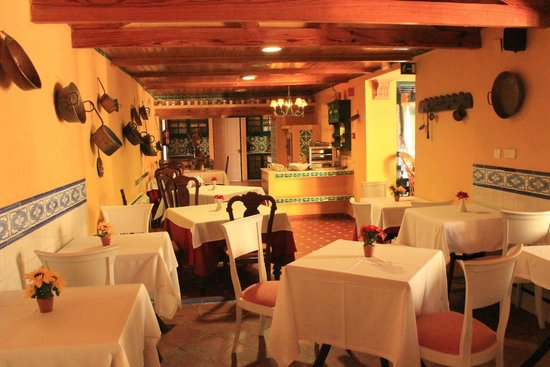 Hotel Cortijo la Reina : Salle du petit-déjeuner