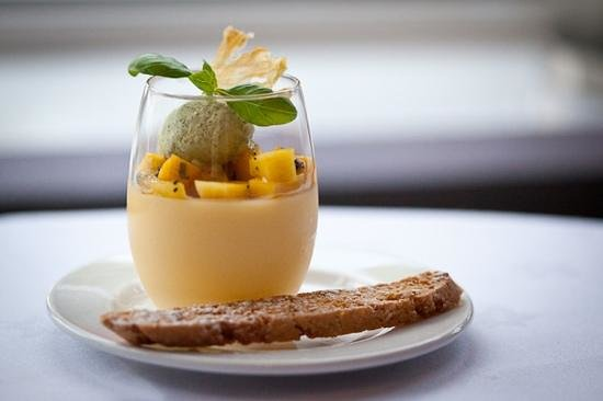 Food by Breda Murphy: Fruit posset with Earl Grey ice cream