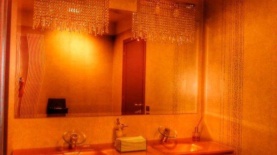 Quartopiano Suite Restaurant: toilette
