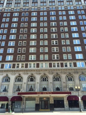 The Brown Hotel: Exterior View