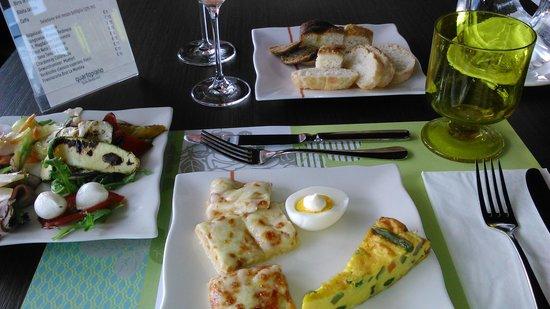 Quartopiano Suite Restaurant: antipasti