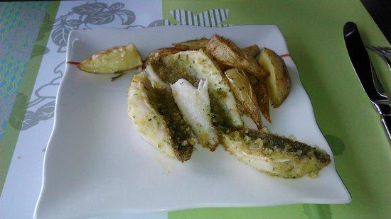 Quartopiano Suite Restaurant: pesce con patate
