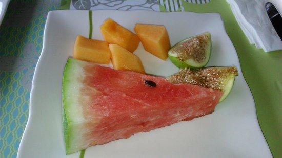 Quartopiano Suite Restaurant: frutta