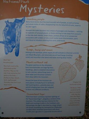 Black Mountain National Park: black mountain info