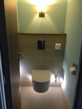 Hôtel Le Nouveau Monde : Les wc de l'espace