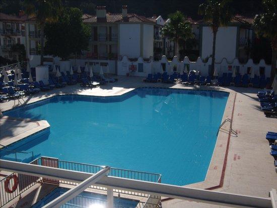 Karbel Hotel: pool view