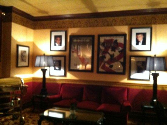 Grand Hotel du Golf & Palace : le bar célébrities