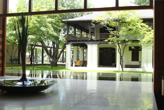 Anantara Chiang Mai Resort: Entrance Lobby