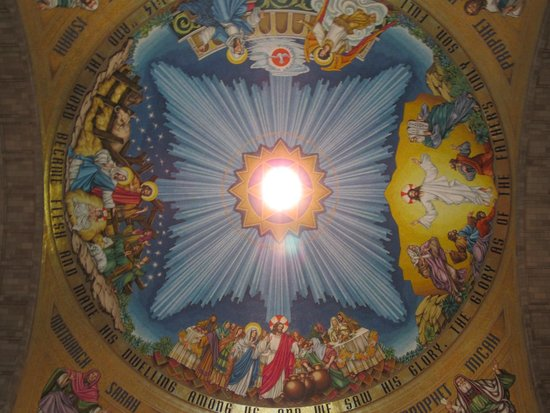 Basilica of the National Shrine of the Immaculate Conception: Ceiling Mosaic