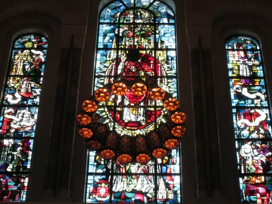 Basilica of the National Shrine of the Immaculate Conception: Stained Glass