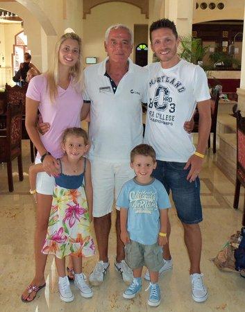 """SENTIDO Oriental Dream Resort : Lamberto e...la """"famiglia del mulino bianco"""""""