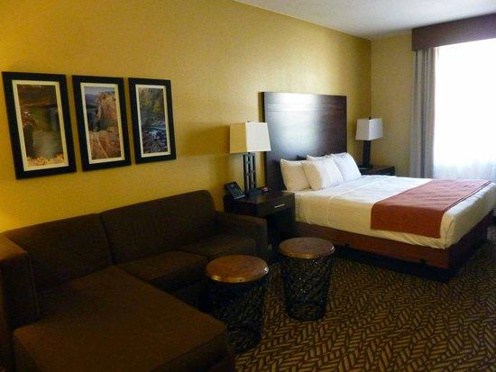 La Quinta Inn & Suites at Zion Park / Springdale : habitacion