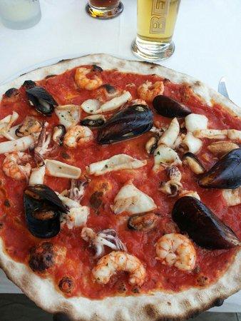 Ristorante Casablanca : Pizza ai frutti di mare