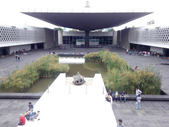 National Museum of Anthropology (Museo Nacional de Antropologia): Vista desde el primer piso