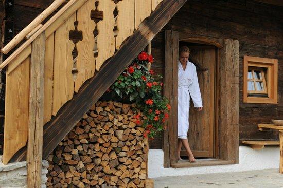 Hotel Herrschaftstaverne: Troadkastn Sauna