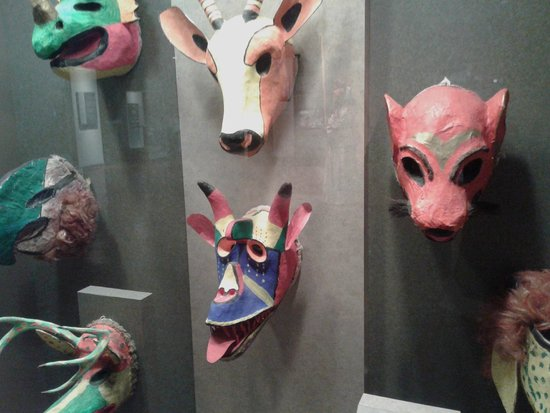 Musée national d'anthropologie de Mexico : Muestras Mascaras
