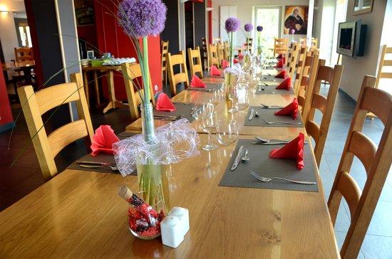 L'Auberge du Brabant : le restaurant