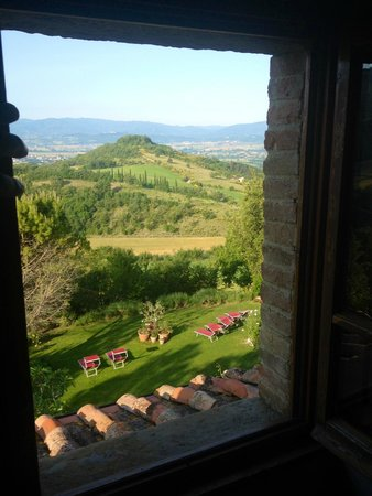 Casa Spertaglia : View from our bedroom (unreal!)
