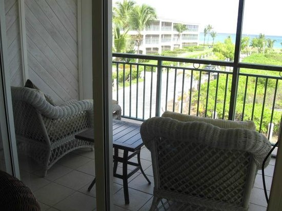 The Sands at Grace Bay: View from balcony, room 1206