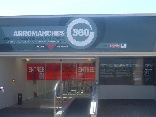 Arromanches 360 : Entrance