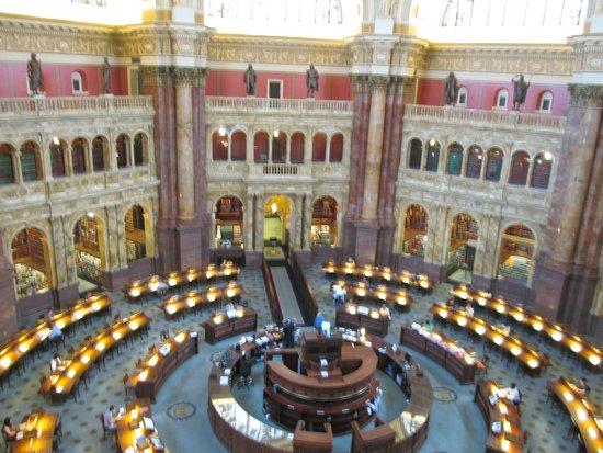 Biblioteca del Congreso: Main Reading Room