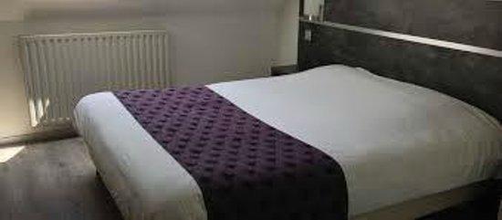 Hôtel Castel Burgond : chambre